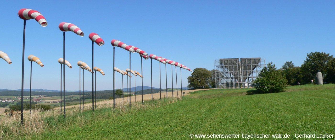 Kunstwanderweg in Eschlkam